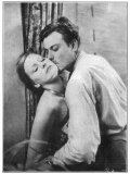 Greta Garbo (Real Name Greta Lovisa Gustafsson) Swedish Actress in a Scene with Nils Asther Photographic Print