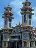 Exterior, Great Cao Dai Temple, Tay Ninh, Vietnam Photographic Print by Shmuel Thaler