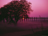 U Bein Bridge, Mandalay, Myanmar Photographic Print by Grayce Roessler