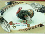 Retro Image of Thanksgiving Day Card Photographic Print by Whitney & Irma Sevin