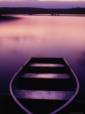 Boat on Otter Lake, Poconos, PA Photographic Print by Rudi Von Briel