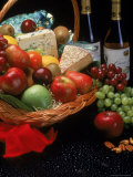 Assortment of Fruits and Wine Photographic Print by Gale Beery