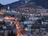 Town View with Ave de la Republique, Alpes Briancon Photographic Print by Walter Bibikow