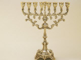Menorah Photographic Print by Bud Freund