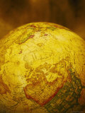 World Globe Showing No America Photographic Print by Ellen Kamp