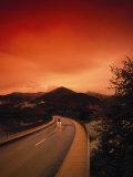 Road in Bavaria, Germany Photographic Print by Thomas Winz