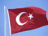 Flag of Turkey Photographic Print by Barry Winiker
