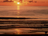 Sunset Over Water Photographic Print by Lauree Feldman