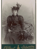 Smart Young Woman 1890s Photographic Print