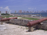 Cannons, Cartagena, Colombia Photographic Print by Dr. Luis De La Maza