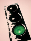 Green Traffic Light Photographic Print by Carol and Mike Werner