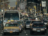 Traffic, New York City, NY Photographic Print by Chris Minerva