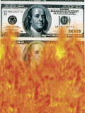 Money to Burn Photographic Print by Robert Cattan