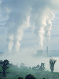 Nuclear Plant Photographic Print by Peter Walton