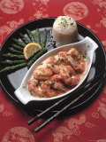 Shrimp Newburg Photographic Print by Katie Deits