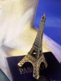 Travel Souvenir and American Passport Photographic Print by Ellen Kamp
