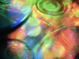 Colorful Cds Photographic Print by Jim Corwin