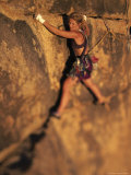 Rock Climber, Joshua Tree, CA Photographic Print by Greg Epperson