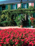 Exterior of Painter Monet's House, Giverny, France Photographic Print by Tamarra Richards