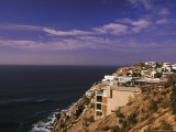 Cliffside Homes, Cabo San Lucas, Baja, Mexico Photographic Print by Walter Bibikow