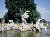 Fountain at Waddesdon Manor, England Photographic Print by Lauree Feldman