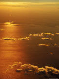 Aerial View, off the Coast of NY Photographic Print by Bruce Clarke