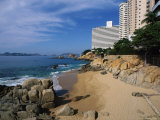 Beach in Acapulco, Mexico Photographic Print by Angelo Cavalli