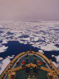 Ice Breaking Bellot Strait Photographic Print by Stuart Westmorland