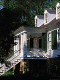 Exterior of Historic House, Waterford, VA Photographic Print by Tom Dietrich