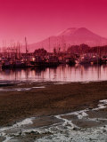 Crescent Harbor and Mt. Verstovia Photographic Print by Ernest Manewal