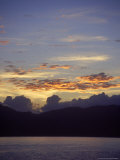 Seascape at Sunset, Antigua, West Indies Photographie par Lauree Feldman