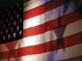 Flag of the United States of America Fotodruck