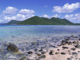 Mary Creek and Point, North Shore, St. John, USVI Photographic Print by Jim Schwabel