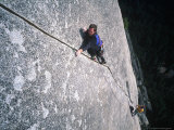Two Men Rock Climbing, Yosemite National Park, CA Photographic Print by Greg Epperson