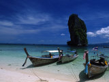 Poda Island, Andaman Sea, Phuket Photographic Print by Angelo Cavalli