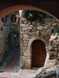 Stone Archway, Doorway, Provence, France Photographic Print by Ken Glaser