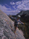 Rock Climbing, Tuolume Meadows, CA Photographic Print by Greg Epperson