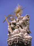 Holy Trinity Statue, Budapest, Hungary Photographic Print by Jennifer Broadus