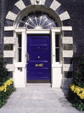 Classic Doorway, London, England Fotografisk tryk af Dan Gair