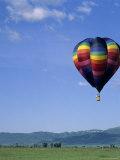 Teton Valley Hot Air Balloon Festival, Driggs, ID Photographic Print by Tom Dietrich