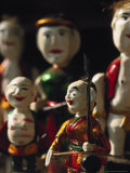 Water Puppet Souvenirs, Hanoi, Vietnam Photographic Print by Walter Bibikow