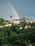 Rainbow, Albi, France Photographic Print by Peter Adams