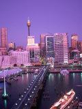 Darling Harbour, Sydney, Australia Fotografie-Druck von Peter Adams