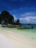 Mu Ko Lao, Krabi, Andaman Sea, Phuket Photographic Print by Angelo Cavalli
