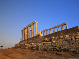 Temple of Poseidon, Attica, Greece Photographic Print by Walter Bibikow