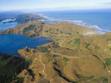 Whanganui Inlet and Tasman Sea, South Island Photographic Print by Bruce Clarke