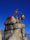 Rock Climbers Photographic Print by Greg Epperson