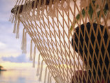Woman on Hammock, Ari Atoll, Maldives Photographic Print by Angelo Cavalli