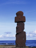 Easter Island, Chile Photographic Print by Angelo Cavalli