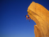 Woman Rock Climber Photographic Print by Greg Epperson